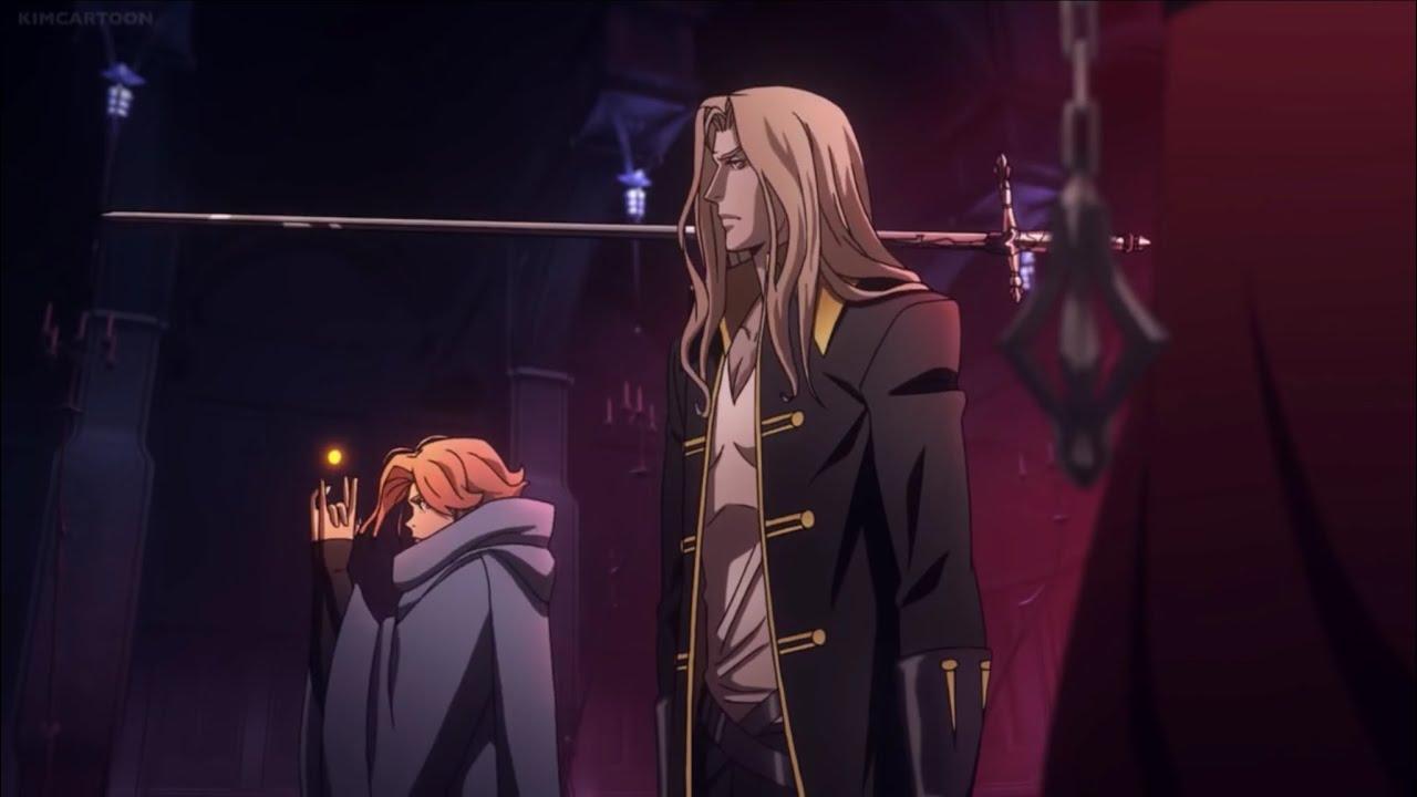 Download Castlevania (Netflix) 2x7 Trevor, Alucard, & Sypha vs Vampire soldiers (1/2)