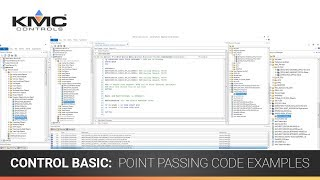 Control Basic: Point Passing Code Examples
