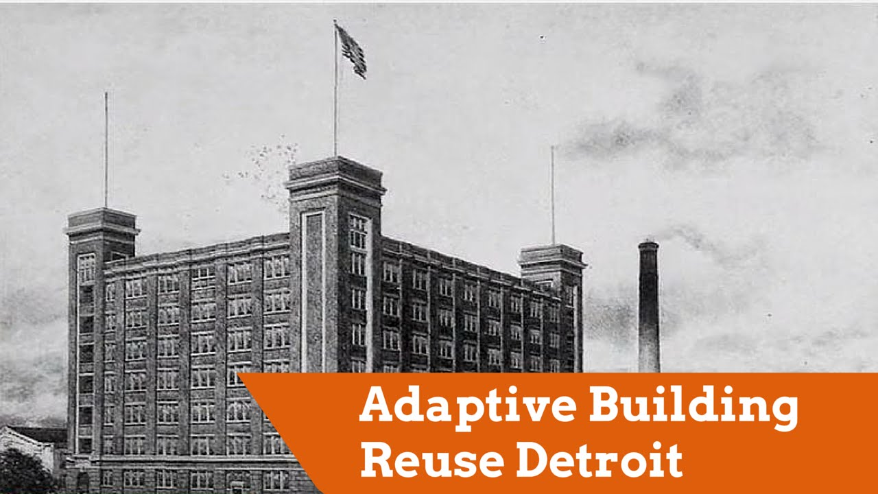 Adaptive Building Reuse Detroit: U Haul Moving And Storage Of New Center