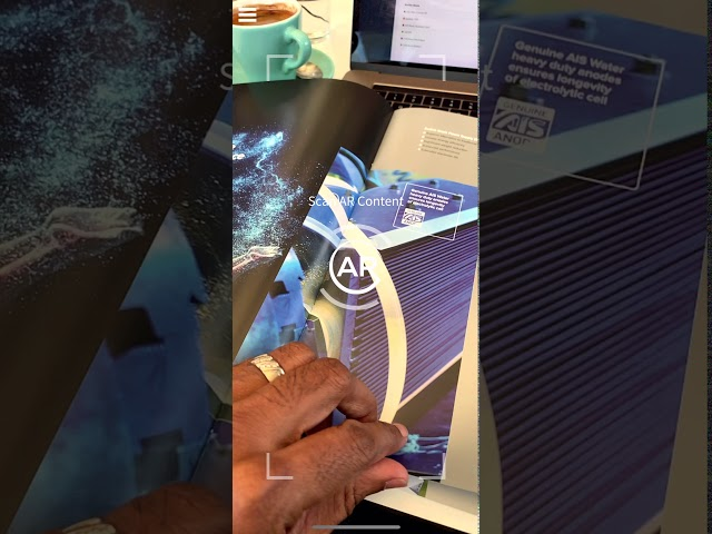 AIS Water - Augmented reality Brochure