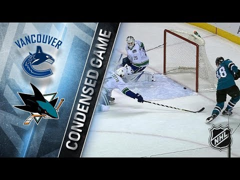 Vancouver Canucks vs San Jose Sharks – Dec. 21, 2017 | Game Highlights | NHL 2017/18. Обзор матча