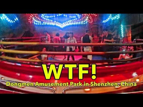 WTF! Crazy Fun Amusement Ride in Shenzhen, China! | Don's ESL Adventure!