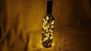 Weinflasche Licht