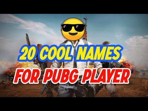 Cool Player Names For Games