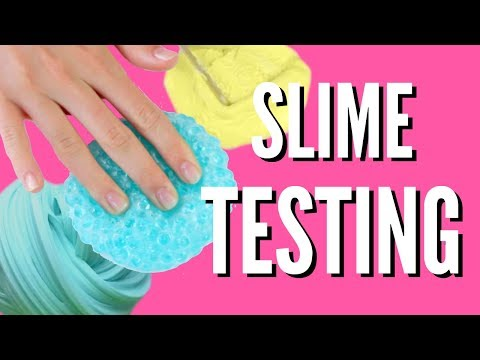 Thumbnail: DIY Contact Lens Solution SLIMES TESTED!! Crunchy, Fluffy, Butter | Pastella28