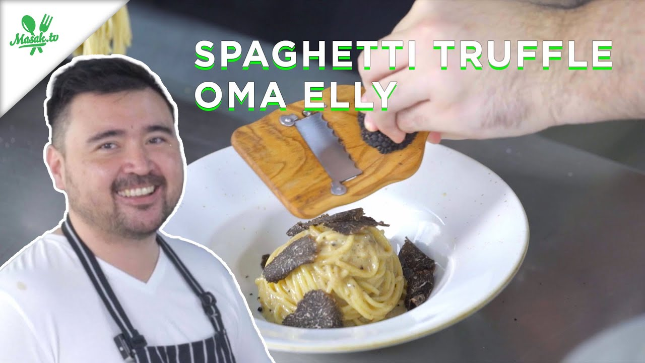 Resep Spaghetti Truffle Oma Elly