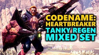 TANK REGEN BUILD - CODENAME: HEARTBREAKER - Monster Hunter World