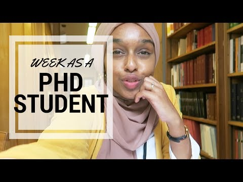 Hijabi & Working At A University In Paris! | A Week As A PhD Student #6