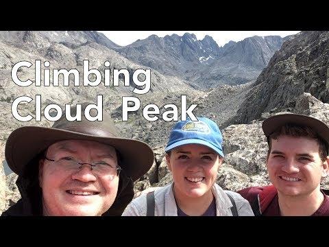 Climbing Cloud Peak