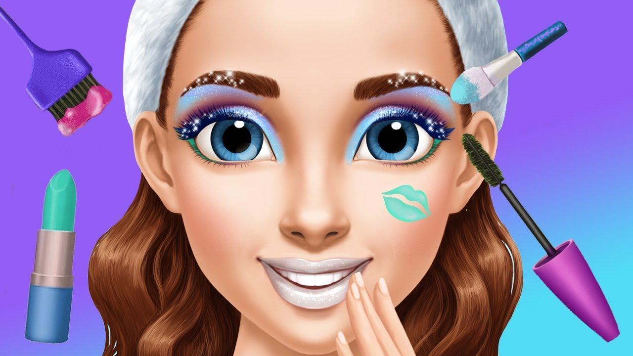 Fun Kids Care Games - Ice Princess Makeup Dress UP ...