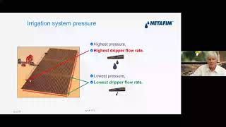 Inside a quality dripper: Flow Rate Constant [K (A)] & Pressure Exponent [X (B)]
