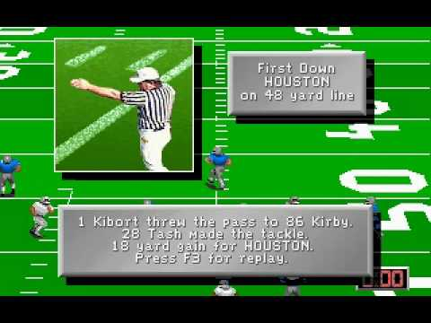 Mike Ditka Ultimate Football Gameplay (PC)