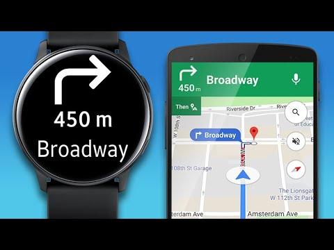 Navigation Pro Google Maps Navi On Samsung Watch Apps On