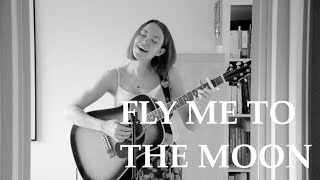 Fly Me To The Moon Frank Sinatra Cover By Helena To Guitar