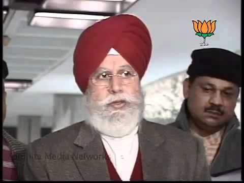 BJP Byte: Meeting of BJP Leaders on Lokpal Bill: Sh. S.S Ahluwalia: 27.12.2011