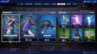 'NEW' SOCCER SKINS BACK! 9 juillet New Skins - Fortnite Item Shop Live (Fortnite Battle Royale)