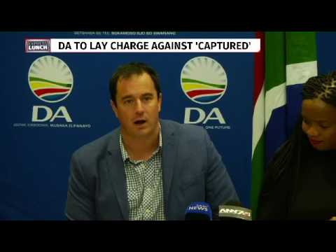 DA seeks Ad Hoc comm on state capture