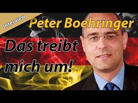 """""""...dann haben sie hier Unruhen auf den Straßen!"""" Peter Boehringer (AfD) im Gespräch auf dem PI-Tag"""