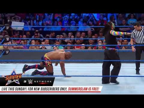 Jeff Hardy Delete Delete Chants On  SmackDown LIVE, Aug. 14, 2018