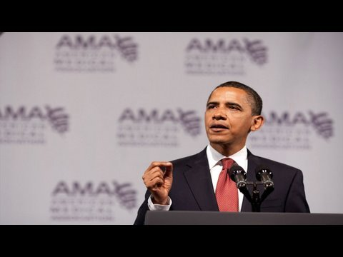 President Obama on Health Care Reform at the AMA