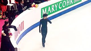 羽生結弦 Yuzuru Hanyu  - practice 04.12.2019 ISU Grand Prix of Figure Skating Final Turin