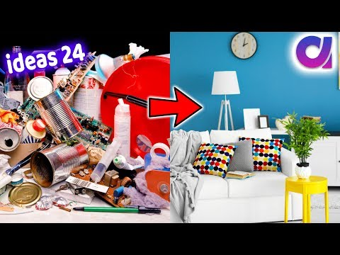24 greatest home decoration ideas using waste materials | Best of waste | Artkala 506