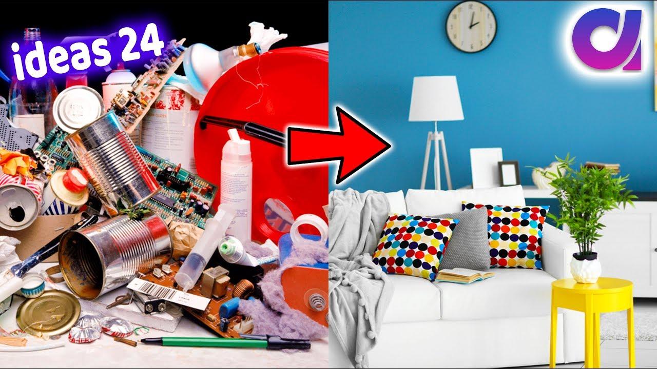 24 Greatest Home Decoration Ideas Using Waste Materials | Best Of Waste |  Artkala 506
