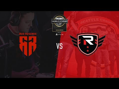 Red Reserve vs Rise Nation | CWL Anaheim 2018 | Day 3