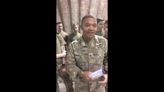 Soldiers help with gender reveal for fallen Fort Bragg soldier