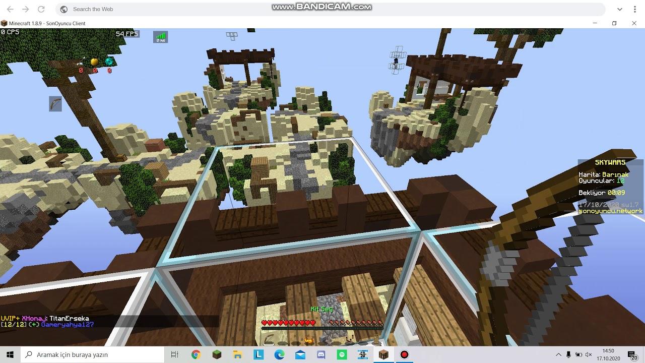 build battle, skywars vb. nasıl girilir (sonoyuncu)