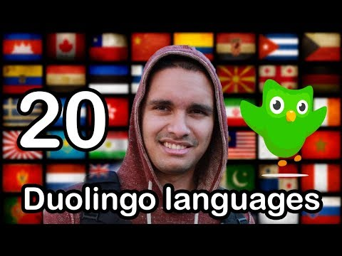 Polyglot Completes 20 Duolingo Languages in 5 years and Analyzes the Duolingo Courses