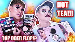 The REAL TEA: Full Face ONLY HATICE SCHMIDT x LOV + BECCA! Top oder FLOP? | Marvyn Macnificent, Ossi