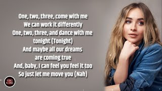 "Sabrina Carpenter - Let Me Move You LYRICS (from the Netflix film ""Work It"")"