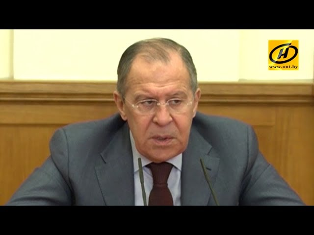 Сергей Лавров о взаимном признании виз и едином визовом пространстве  Беларуси и России