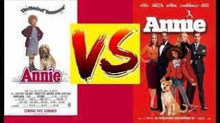 (VS) Annie It's a hard knock life  1982 VS 2014 Resimi