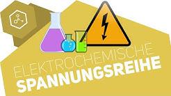 Elektrochemische Spannungsreihe / Redoxreihe ● Gehe auf SIMPLECLUB.DE/GO & werde #EinserSchüler