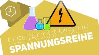Elektrochemische Spannungsreihe / Redoxreihe - Abitur