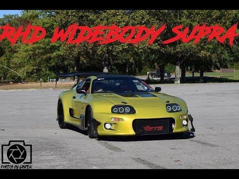 185de71e6d09 Nelson s RHD Widebody Toyota Supra - YouTube