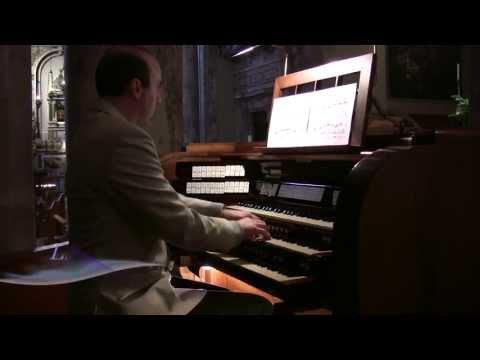 Bach - BWV 641 Wenn wir in höchsten Nöten sein (Mascioni organ, Livorno, Italy)