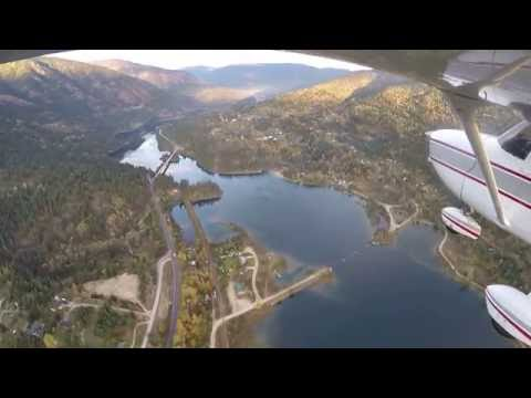Flying From Castlegar To Nelson