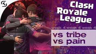 SK VS TRIBE & PAIN | CRL WEST FALL 19 W4 | HIGHLIGHTS
