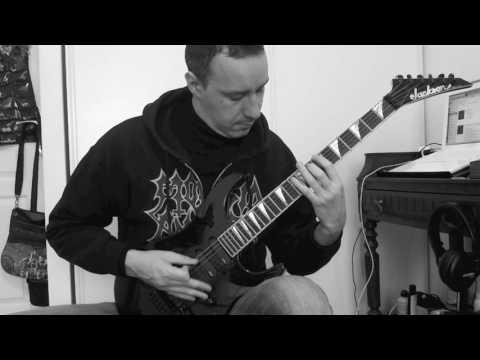 EMPEROR Guitar cover : Inno a Satana