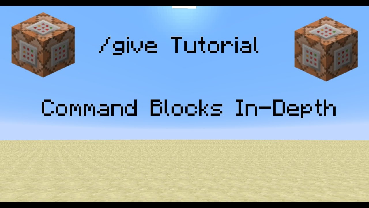 how to make command blocks give you multiple items