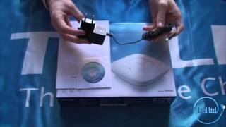 видео Обзор потолочной точки доступа TP-Link EAP115