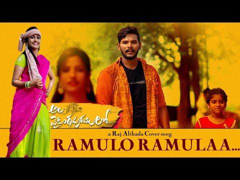 #Ramulo Ramula Video Cover Song    Ala Vaikunta Puram    Raj Althada