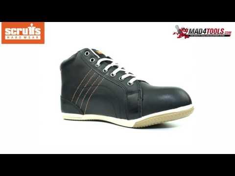 ba9e9fd1a41 Scruffs EDEN S1P SRA Rated Boot Women's Black Safety Footwear (Sizes ...