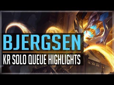 Bjergsen Vel'Koz (ft.Svenskeren) - KR Solo Queue Highlights