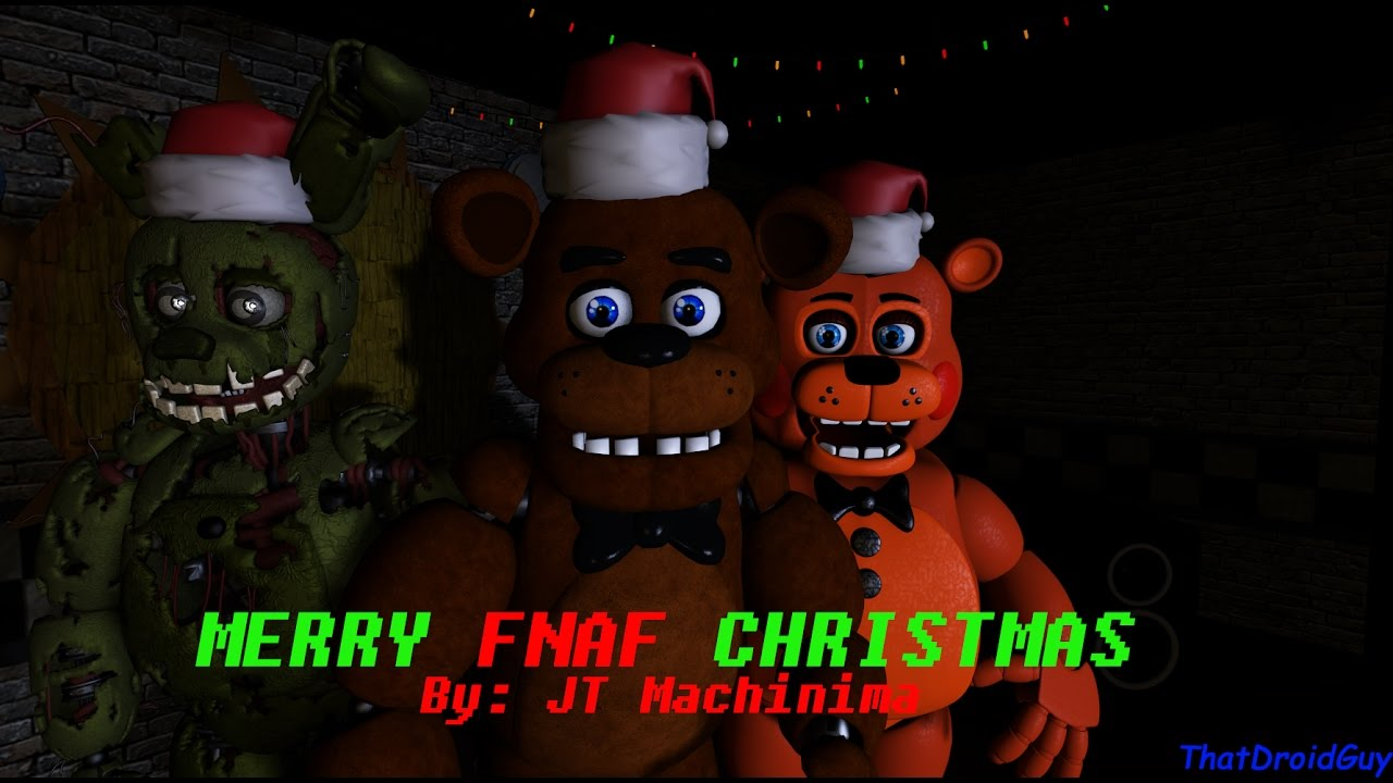 SFM FNAF] Merry FNAF Christmas (Song by JT Machinima) - YouTube