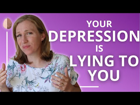 Your Depression Is Lying To You-Depression Treatment Options- Depression Skills #1