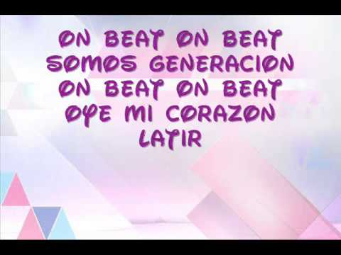On Beat- Violetta (Lyrics) Videos De Viajes